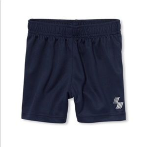 NWT PLACE Boys Dark Blue Gym Basketball Shorts 3T